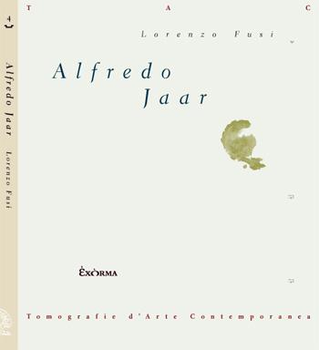 Copertina Alfredo Jaar