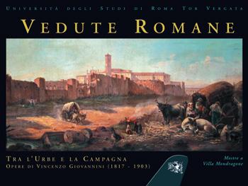 Copertina Vedute Romane