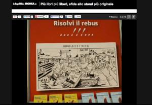 Stand Più Libri 2013 Rebus