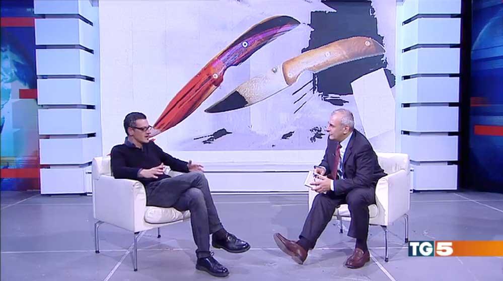 Massimo Roscia a La Lettura del Tg5 - Exorma