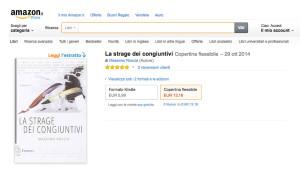 Offerta ebook: La strage dei congiuntivi a 5.99 €