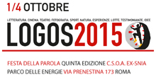 Logos 2015. Festa della parola